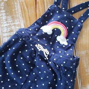 Jumpsuit skirt rainbow